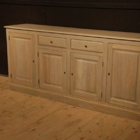 Massief eiken dressoir in naturel kleur
