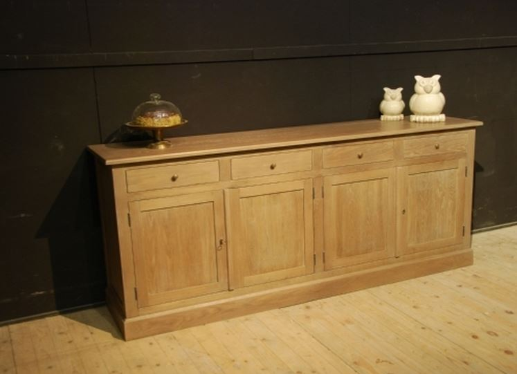 Massief eiken dressoir